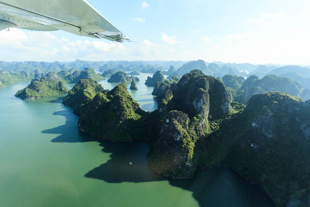 Best of Vietnam halong bay seaplane