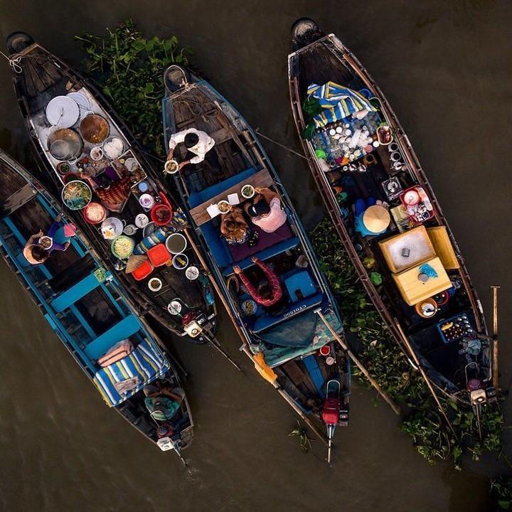 Mekong Delta Floating Market