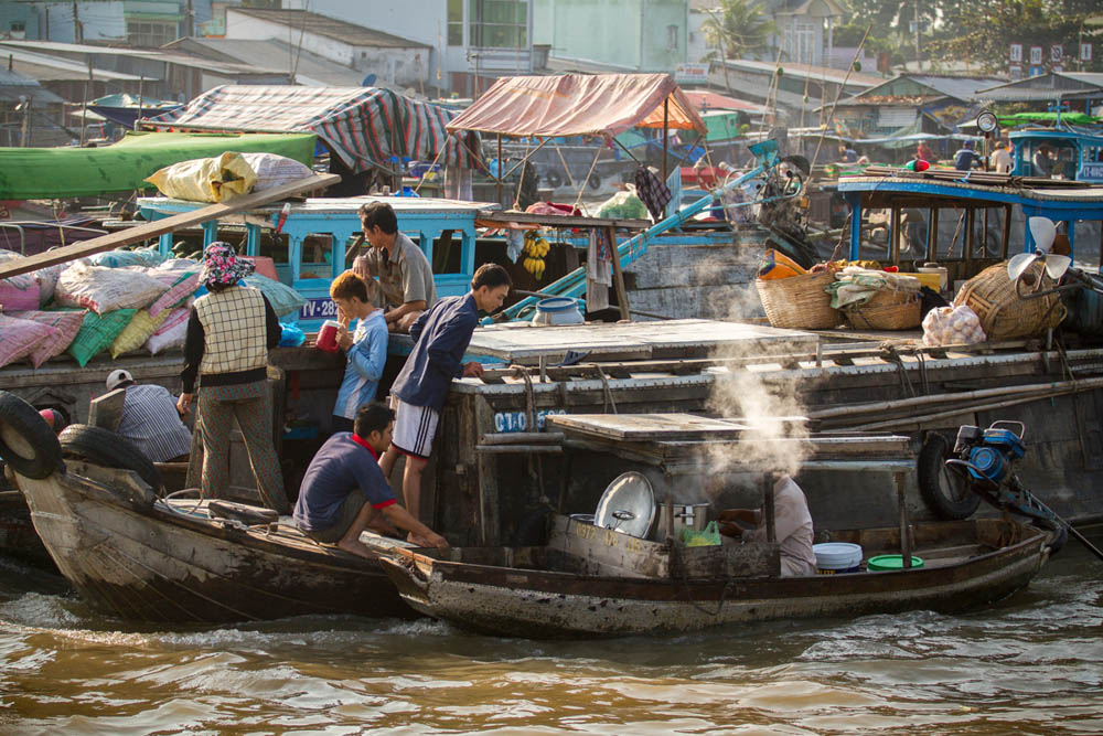 Ultimate Southern Vietnam floating market