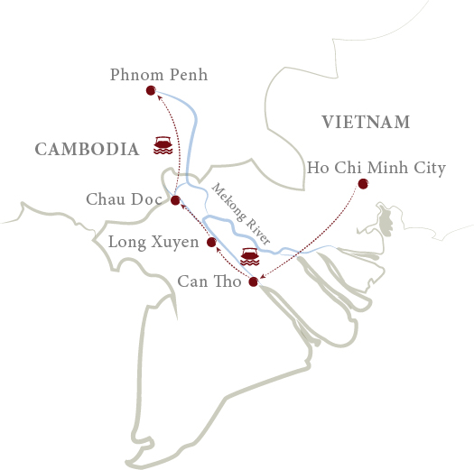 Saigon to Phnom Penh