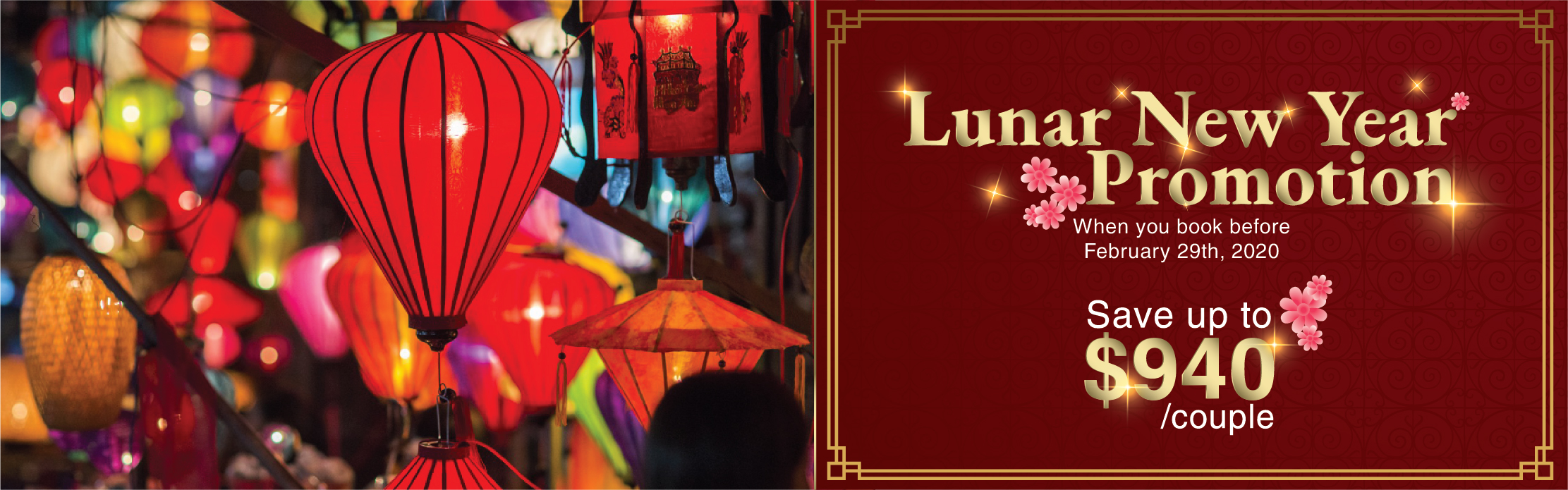Victoria Voyages Lunar New Year Promotion
