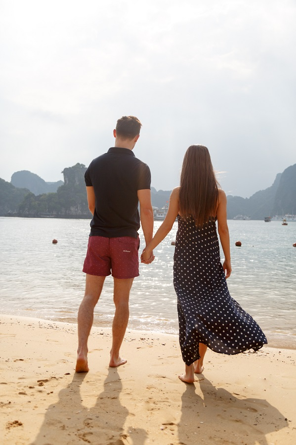 vietnam beaches halong bay titop